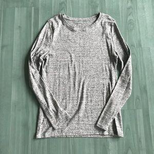 Target Marled gray long sleeve